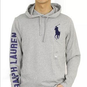 Polo Ralph Lauren LS Long Sleeve Hooded Big Pony